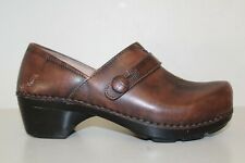 Dansko Womens Brown Leather Casual Pro Clog Loafer Shoes Sz 6.5 - 7 / 37