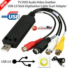 Easycap USB 2.0 Audio Video VHS to DVD Converter Capture Card Dongle Adapter USA