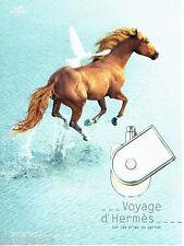 PUBLICITE ADVERTISING 046  2010  Hermès   parfum Le voyage