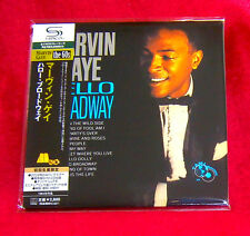 Marvin Gaye Hello Broadway SHM MINI LP CD JAPAN UICY-94026