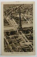 Paris Post Card Le Champ de Mars et le TROCADERO France Eiffel Tower