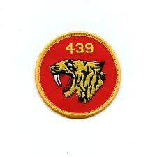 RCAF CAF Canadian 439 Tiger Squadron Colour Crest Patch