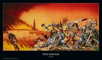 "Rock-Poster ""BOLT THROWER - War Master"" von Pete Knifton"