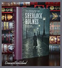 Adventures and Memoirs of Sherlock Holmes Unabridged New Illustrated Hardcover