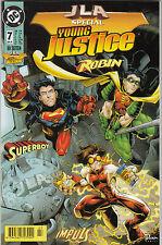 JLA SPECIAL # 7 - YOUNG JUSTICE / ROBIN / SUPERBOY - DINO VERLAG 1998 - NEUWARE