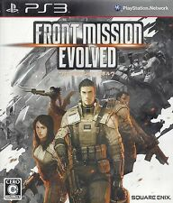 FRONT MISSION EVOLVED for Playstation 3 PS3 - complete - Japanese NTSC version