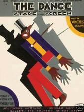 Dance magazine Bo Jangles Vaudeville 1920's Deco poster art print SKU1067
