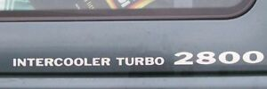 Pair of Intercooler Turbo 2800  Decals + colour choice