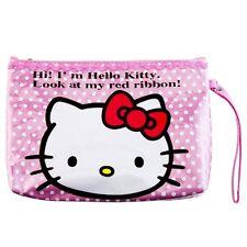 ESTUCHE O NECESER HELLO KITTY MAKEUP BAG OR PENCIL CASE A1383