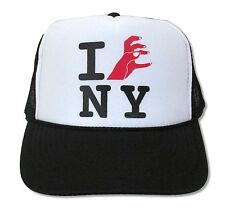 Lady Gaga I Love New York Black and White Truckers Hat Cap New Official Baseball
