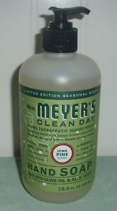 Mrs Meyers Clean Day Hand Soap IOWA PINE Limited Edition Choose Quantity 12.5 Oz