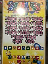 Pull Tabs! Sparkles! Massive Profit $800!