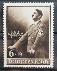 1939 Deutsches Reich; 6 + 19 Pf Reichsparteitag **/MNH MiNr. 701, ME 24,-