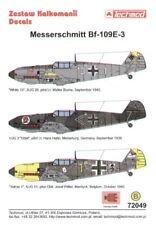 Techmod 1/72 Messerschmitt Bf 109E-3 # 72049