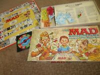 Vintage 1979 Board Game MAD Magazine Game Parker Brothers Fun Graphics