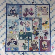 """Someone To Watch Over Me ANGEL Sampler Quilt Pattern 54""""x57"""" New 1999"""