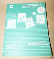 Cummins Industrial QSB3.9-30 QSB4.5-30 & QSB5.9-30 Engines Operation Manual