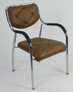 1 Stuhl Chrom Designer PU Leder stapelbar Kinderstuhl Sitzhöhe 40cm Kinderzimmer