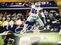 Ezekiel Elliott Autographed 8 X 10 Dallas Cowboys Game Day Photo COA CERTIFIED