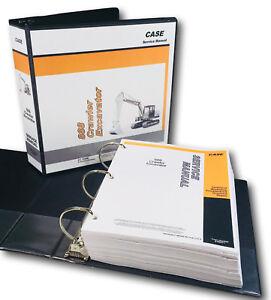 CASE 888 CRAWLER EXCAVATOR SERVICE REPAIR MANUAL TECHNICAL SHOP BOOK OVERHAUL