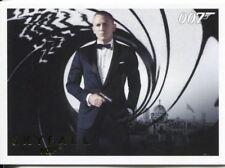 James Bond Autographs & Relics Complete 110 Card Skyfall Gold Parallel Base Set