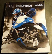 2008 YAMAHA SNOWMOBILE ACCESSORIES & APPAREL SALES CATALOG BROCHURE (221)