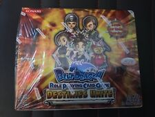 Konami Blue Dragon Role Playing Card Game Destinies Unite Booster box of 24 pack