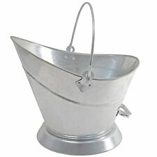Manor 1323 Waterloo Fireside Fireplace Coal Scuttle Bucket Helmet Galvanised