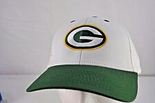 Green Bay Packers White/Green Baseball Cap Adjustable
