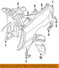 MITSUBISHI OEM 95-99 Eclipse Rear Fender-Mud Flap Splash Guard Left MR162455