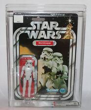 1978 Kenner Star Wars Stormtrooper 12 Back A AFA 80 SKU Footer Carded 12bk MOC