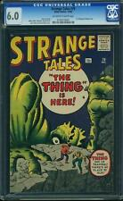 Strange Tales #79 CGC 6.0 Atlas 1960 Dr. Strange Prototype! Doctor! F2 154 cm cl