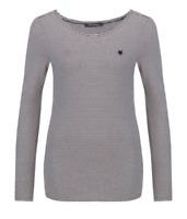 Marc O'Polo Blouse Pinstripe Womens Ladies Black Long Sleeve UK Size XS *REF87