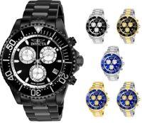 Invicta Grand Diver Men's 47mm Chronograph Swiss ETA G10 - Choice of Color