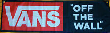 Vans Flag Off The Wall Decor Outdoor Indoor Banner 58 Inches X 18 Inches