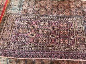 Teke Caucasian Hand made rug  152x81cm/5x2.8