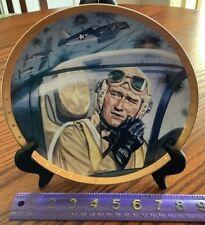 John Wayne Plate Symbol Of Marine Air Power U S. Marines Franklin Mint Tanenbaum