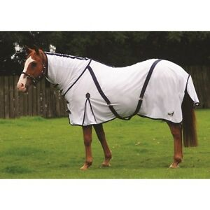 Masta - Zing Fly Mesh Rug - Fixed Neck - Equestrian Mesh Fly Rug - Various Sizes