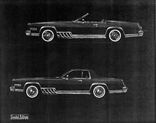 Old Print.  1980 Cadillac Eldorado Sportsman & Coupe II Auto Ad