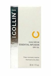 G.M. Collin Essential Infusion Dry Oil 1 oz / 30 Ml New in box EXP 4/2020