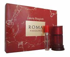 Laura Biagiotti ROMA PASSIONE Eau de Toilette EDT 50ml. & Eau de Toilette 15ml.