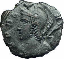 ANONYMOUS Constantine the Great Dynasty 347AD Roman Coin VRBS ROMA i79285