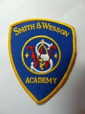 SMITH & WESSON ACADEMY  SHOULDER PATCH