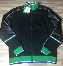 $120 Puma x Big Sean T7 Track Jacket Men's Size MEDIUM Black/White/Green NWT