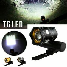 Super Bright MTB Bike Cycling Front Light USB Rechargeable T6 LED Waterproof NEW