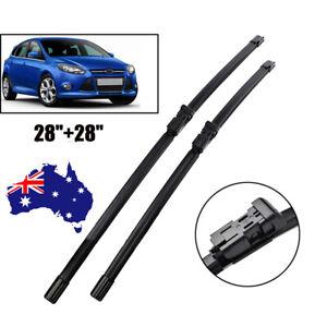 """28 + 28"""" Windscreen Wiper Blades Fit Ford Focus LZ LW  2012 2013 2014 - 2018"""