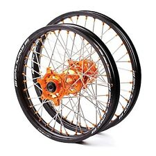 Custom SM PRO Motocross wheel set for KTM bike SX-F, EXC-F, Freeride -brand new!