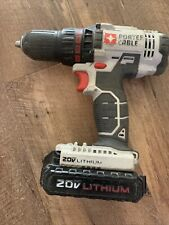 PORTER-CABLE PCC601 20V  Cordless Drill Driver With PCC681L Battery -Works Well