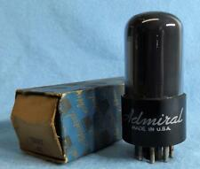 1 Admiral by RCA 12SN7GT Vacuum Tube NOS/NIB Amplitrex Tested Gray Glass Foil