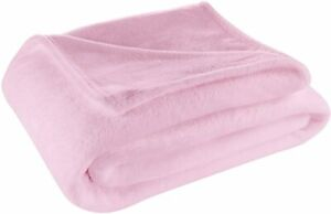 Cosy House Collection King/Cal King Size Fleece Blanket – All Season, Lightweigh